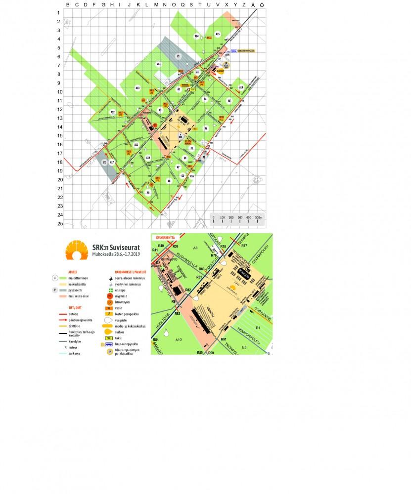 kartta suviseurat muhos